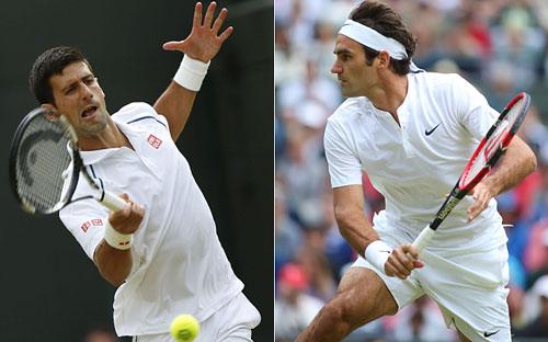 Phân nhánh Wimbledon: Federer đụng Djokovic ở bán kết - 1