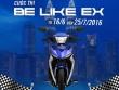 Tín đồ Exciter thể hiện phong cách và đam mê với BE LIKE EX