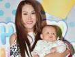 Con trai 4 tháng tuổi của Phi Thanh Vân gây chú ý