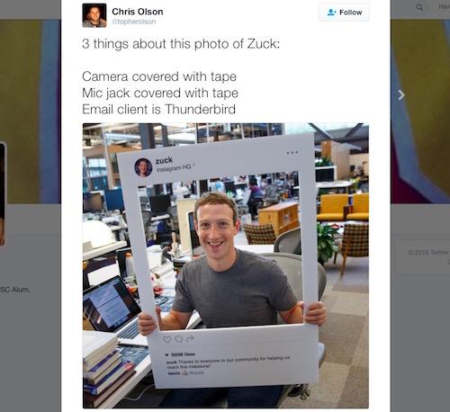 Che webcam như Mark Zuckerberg đã đủ an toàn? - 1