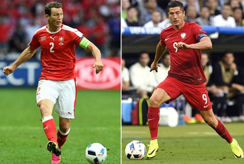 """Thụy Sĩ – Ba Lan: Lewandowski quyết """"giải hạn"""" (Vòng 1/8 EURO 2016) - 1"""