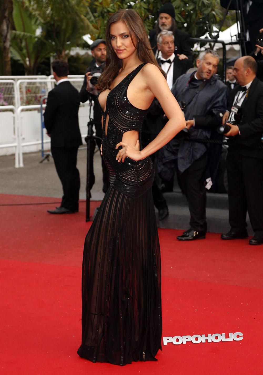 Irina Shayk mặc váy ngủ đi dự tiệc hạng sang - 8