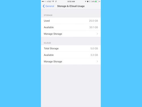 Mẹo đơn giản giúp lấy lại bộ nhớ trống cho iPhone - 1
