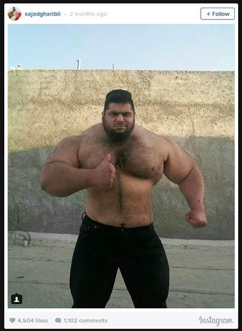 Người khổng lồ xanh cử tạ: Phiên bản Hulk Iran - 7