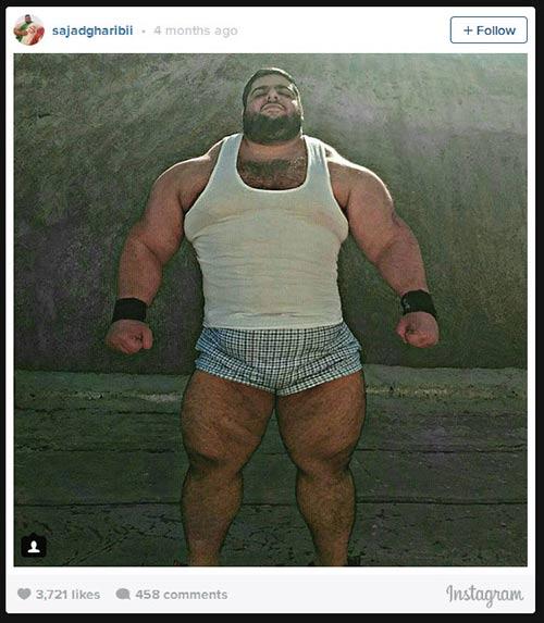 Người khổng lồ xanh cử tạ: Phiên bản Hulk Iran - 10