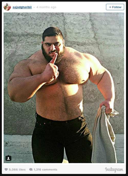 Người khổng lồ xanh cử tạ: Phiên bản Hulk Iran - 11