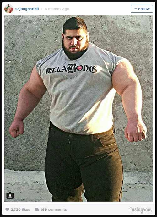 Người khổng lồ xanh cử tạ: Phiên bản Hulk Iran - 12
