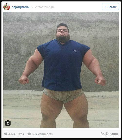 Người khổng lồ xanh cử tạ: Phiên bản Hulk Iran - 13