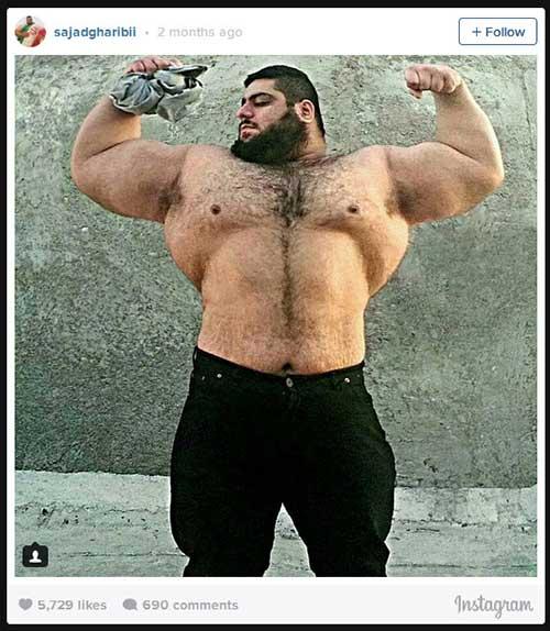 Người khổng lồ xanh cử tạ: Phiên bản Hulk Iran - 3
