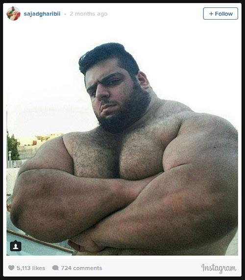 Người khổng lồ xanh cử tạ: Phiên bản Hulk Iran - 2