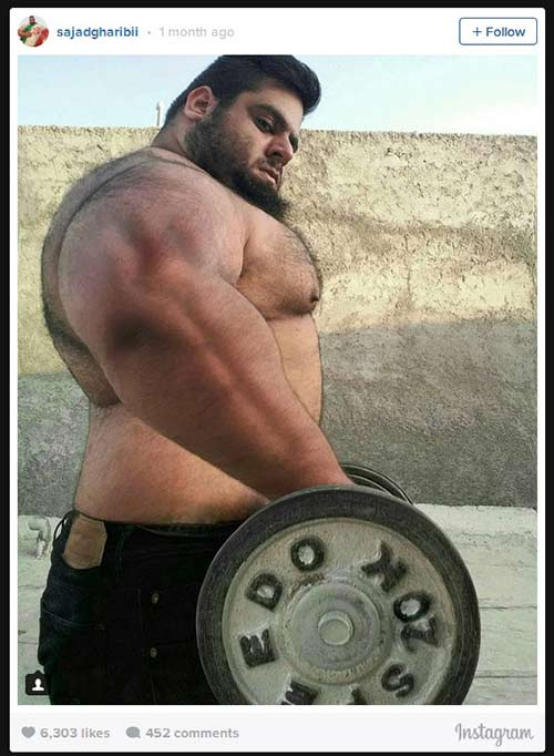 Người khổng lồ xanh cử tạ: Phiên bản Hulk Iran - 4