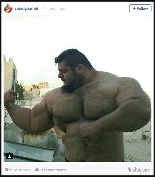 Người khổng lồ xanh cử tạ: Phiên bản Hulk Iran - 5