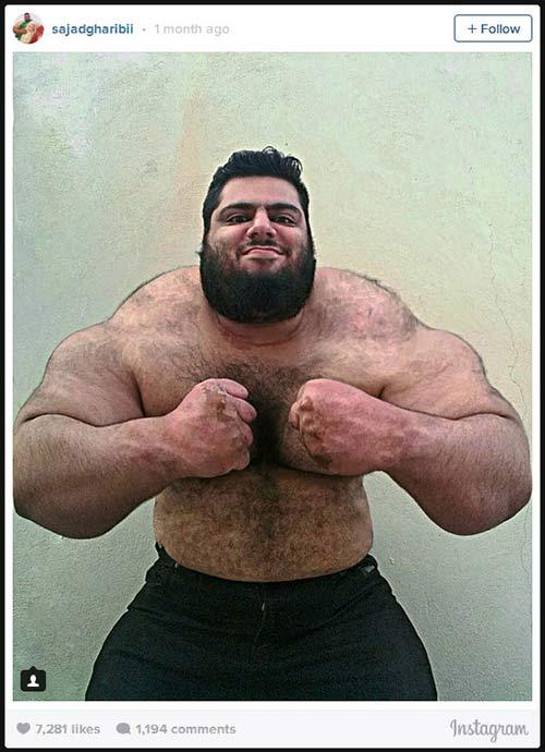Người khổng lồ xanh cử tạ: Phiên bản Hulk Iran - 8