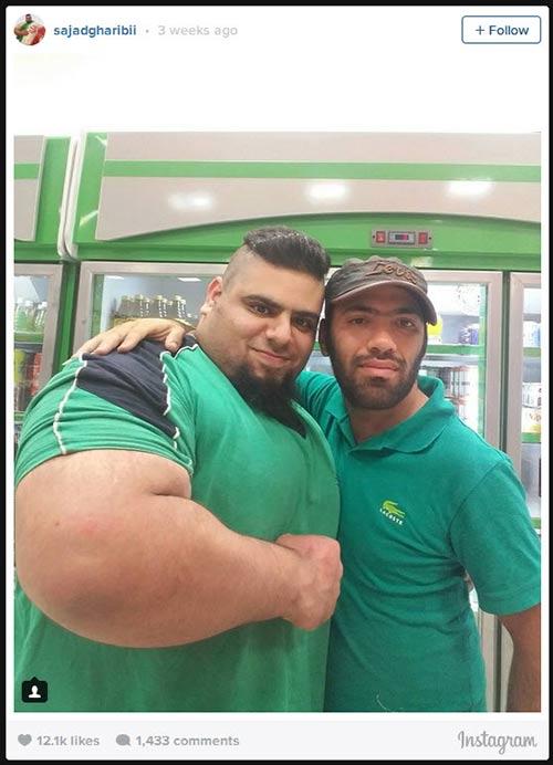 Người khổng lồ xanh cử tạ: Phiên bản Hulk Iran - 14
