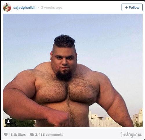 Người khổng lồ xanh cử tạ: Phiên bản Hulk Iran - 9