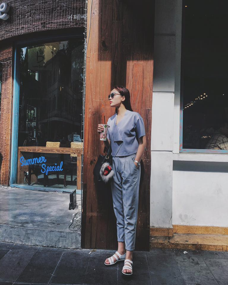 Hoa hậu Kỳ Duyên diện đồ sành điệu đi du lịch - 15