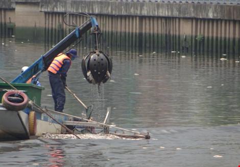 """Ai chế ra máy """"cạp cá"""" trên kênh Nhiêu Lộc - Thị Nghè? - 1"""