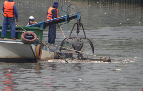 """Ai chế ra máy """"cạp cá"""" trên kênh Nhiêu Lộc - Thị Nghè? - 2"""