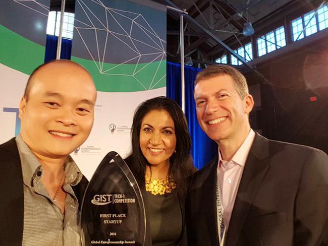 Startup Việt đoạt giải Nhất cuộc thi khởi nghiệp tại Mỹ - 1