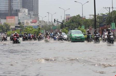 TP.HCM khởi công dự án chống ngập gần 10.000 tỉ đồng - 1