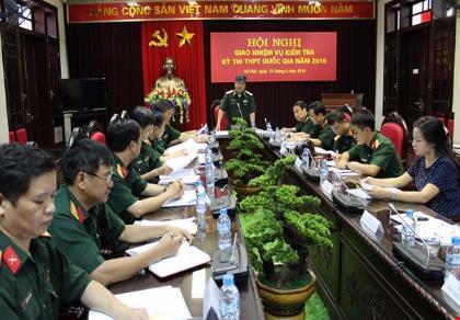 Bộ Quốc phòng thành lập hội đồng kỳ thi quốc gia 2016 - 1