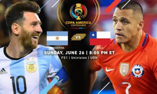Nhận định Argentina vs Chile - 2