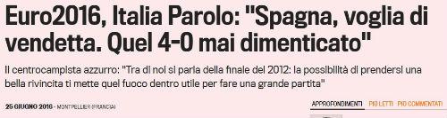 Trước đại chiến TBN, báo giới Ý sôi sục báo thù - 1