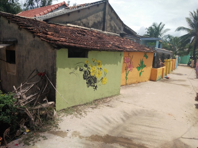 Độc đáo ngôi làng bích họa ở TP Tam Kỳ - 5