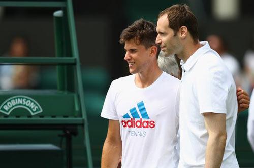 "Wimbledon: Petr Cech ""nhặt bóng"" cho Stepanek - 5"