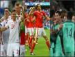 "Ảnh đẹp Euro 25/6: Ronaldo ""hẹn hò"" Lewandowski"