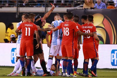 Chi tiết Argentina - Chile: Messi trượt 11m (CK Copa America) - 5