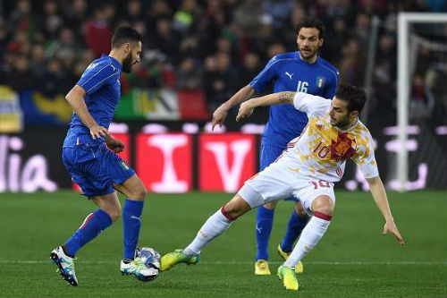 Tay Ban Nha vs Italia - 1