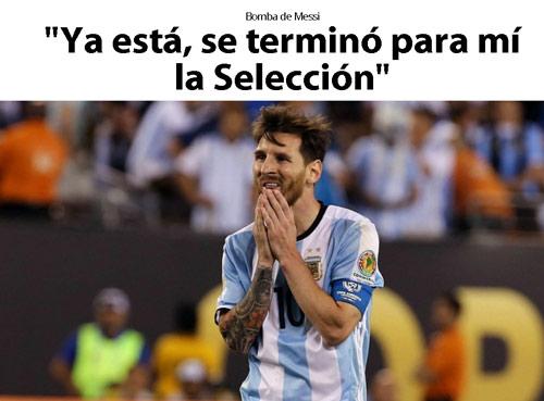 Messi chia tay Argentina - Choáng vàng vì M10 chia tay Argentina - 2
