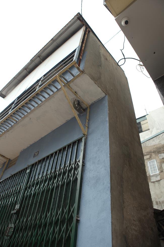 Dãy phố nhà siêu mỏng mọc lên dọc bờ mương ở Hà Nội - 7