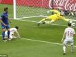 """De Gea và Buffon thi nhau """"bay lượn"""" trận Ý - Tây Ban Nha"""