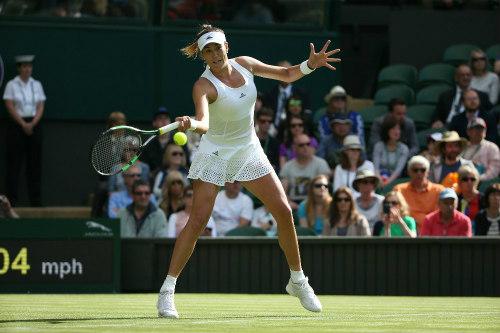 """Wimbledon ngày 1: Hoa khôi Ivanovic """"ngã ngựa"""" - 6"""
