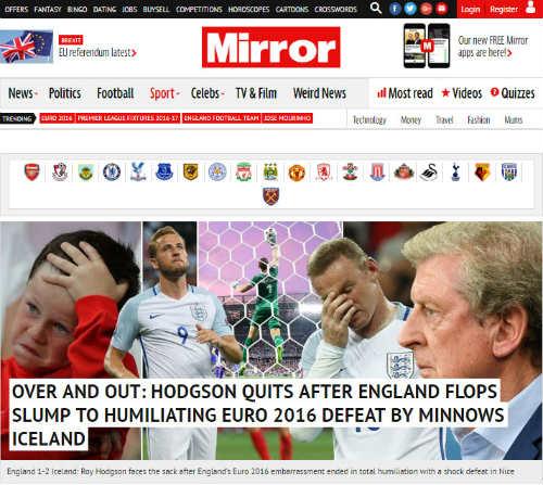 """Thua sốc Iceland, ĐT Anh bị gọi là """"nỗi nhục quốc gia"""" - 3"""