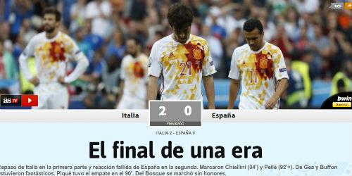 Báo chí Italia hả hê vì báo thù được Tây Ban Nha - 2