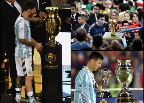 Tổng thống & Maradona xin Messi đừng bỏ ĐT Argentina - 1
