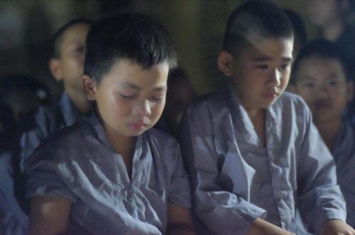 Theo chân trẻ Hà thành lên chùa tham dự khóa tu mùa hè - 12