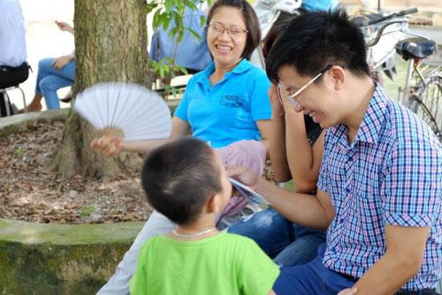 Theo chân trẻ Hà thành lên chùa tham dự khóa tu mùa hè - 11