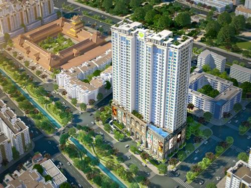 Ưu đãi lớn cho căn hộ ba mặt tiền trung tâm Chợ Lớn - 1