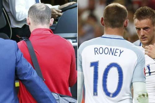 """Thua Iceland, chỉ 1 đêm Rooney """"xuống cấp"""" trầm trọng - 1"""