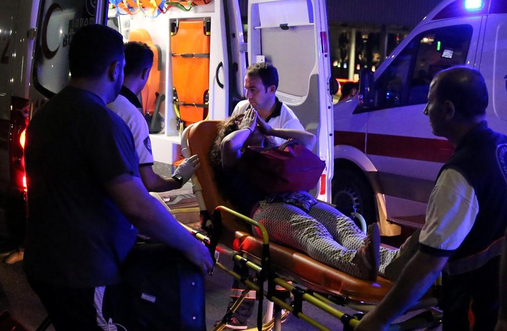 Đánh bom sân bay Thổ  Nhĩ Kỳ, 41 người thiệt mạng - 2