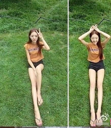 Cô gái sở hữu chân dài như người ngoài hành tinh - 4