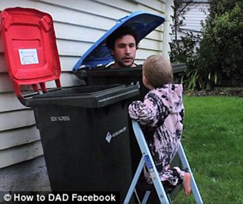 """Ông bố """"đào tạo"""" con gái 2 tuổi giỏi việc nhà - 3"""