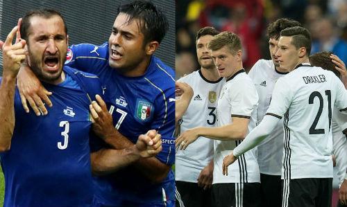 Tứ kết Euro 2016: Đức-Italia, cuộc chiến lửa - băng - 1
