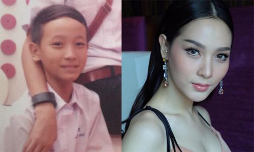 Vẻ đẹp sexy của hoa hậu người Thái từng là đàn ông - 1