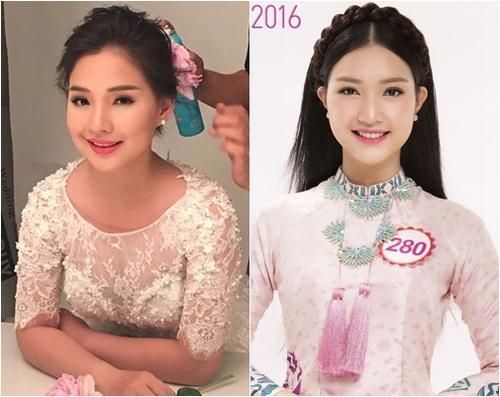 Vợ Duy Nhân sững sờ vì thí sinh Hoa hậu giống hệt mình - 14