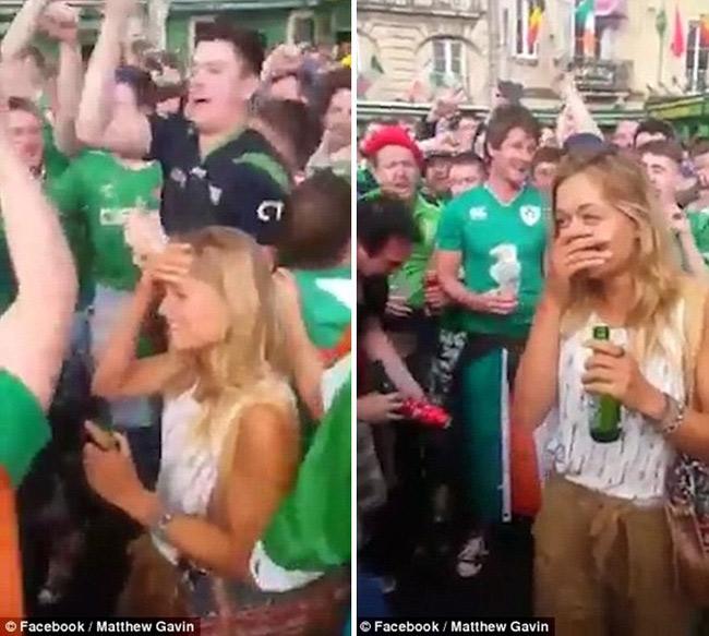 Chân dung cô nàng khiến cả trăm fan Ireland mê mệt - 5